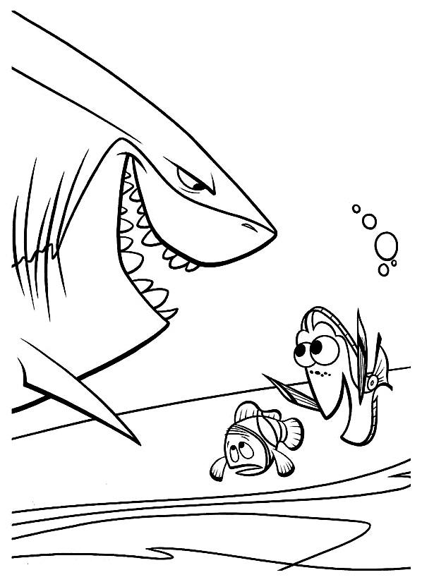 129 dessins de coloriage le monde de nemo imprimer - Nemo coloriage ...
