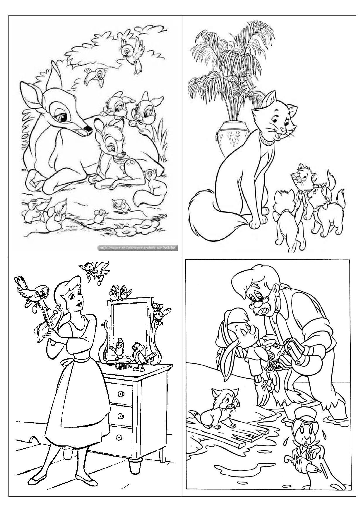 20 dessins de coloriage le roi lion pdf imprimer - Coloriage magique pdf ...