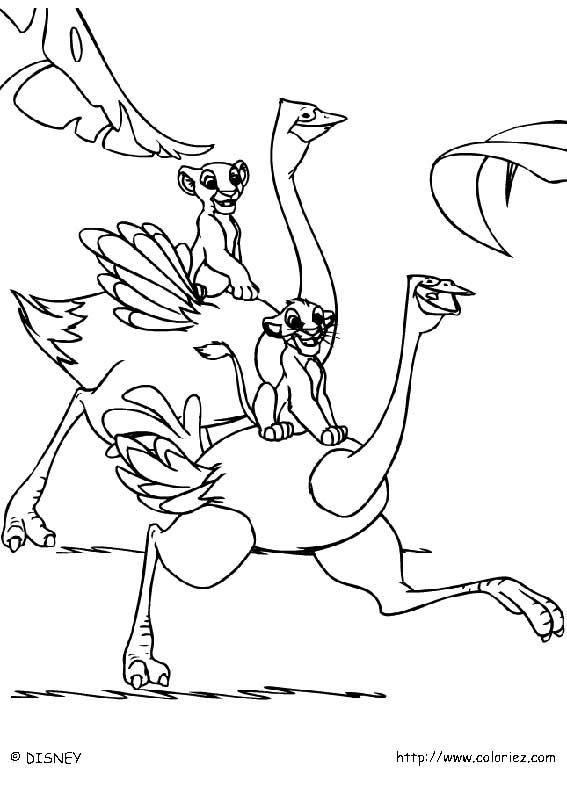 dessin le roi lion 4