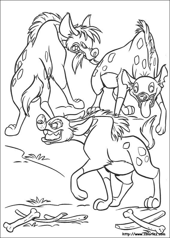 Coloriage dessiner le roi lion imprimer - Coloriage roi lion 2 ...