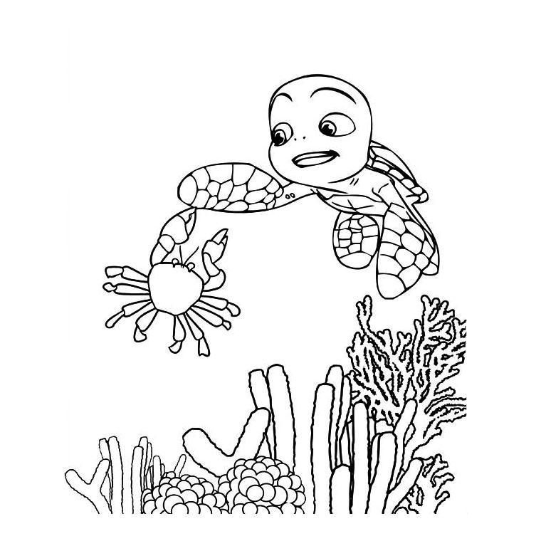 dessin à colorier le voyage d'arlo a imprimer