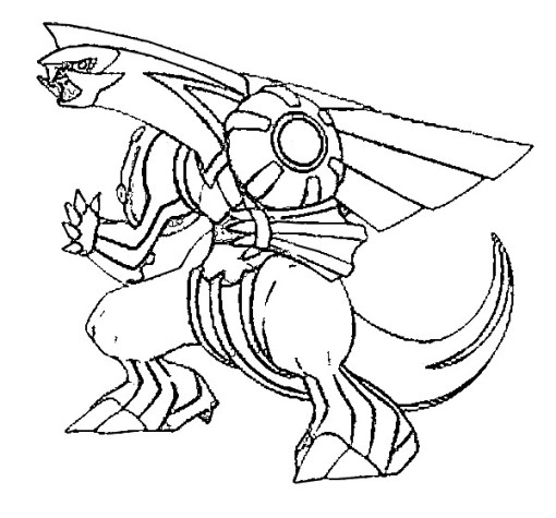 Coloriage pokemon legendaire arceus a imprimer - Coloriage pokemon legendaire ...