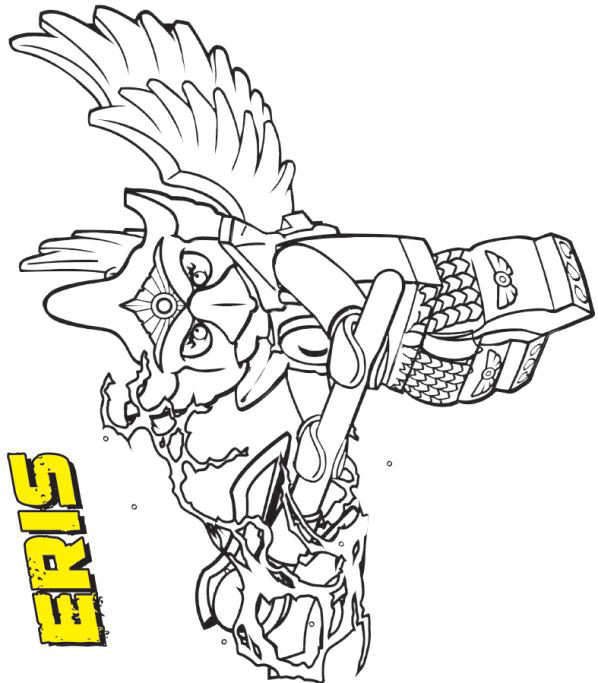 kids n fun 15 coloring pages of lego chima - Lego Chima Coloring Pages Cragger