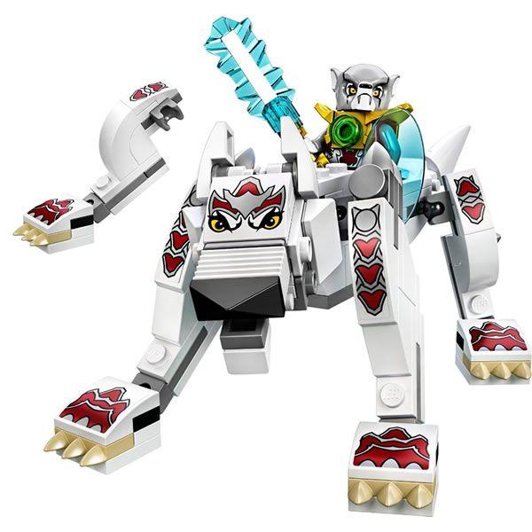 14 dessins de coloriage Lego Chima Loup à imprimer
