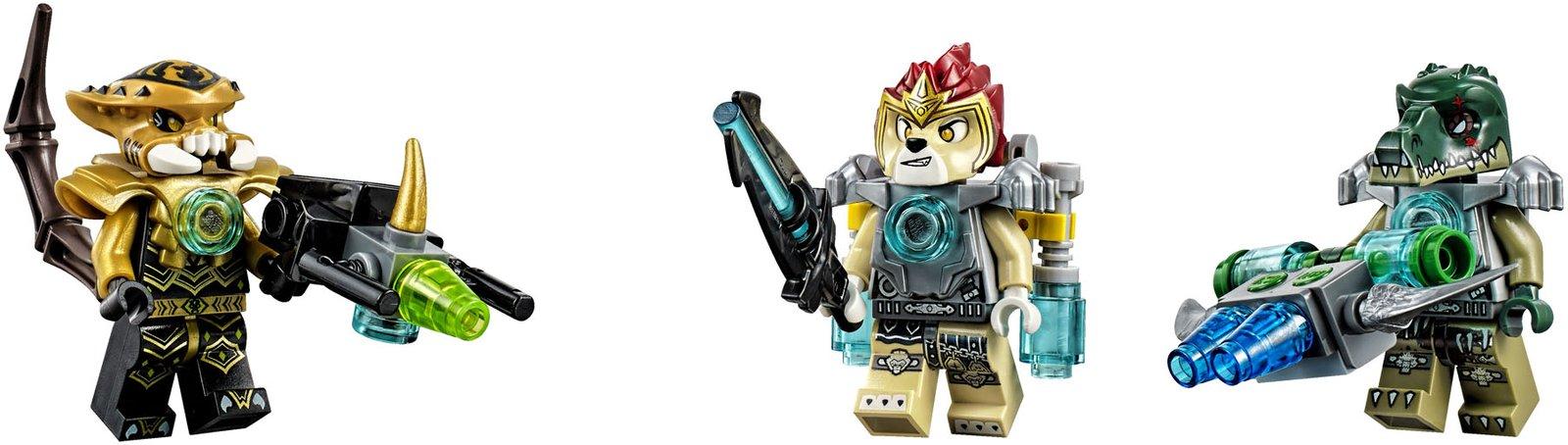 11 dessins de coloriage Lego Chima Scorpion à imprimer