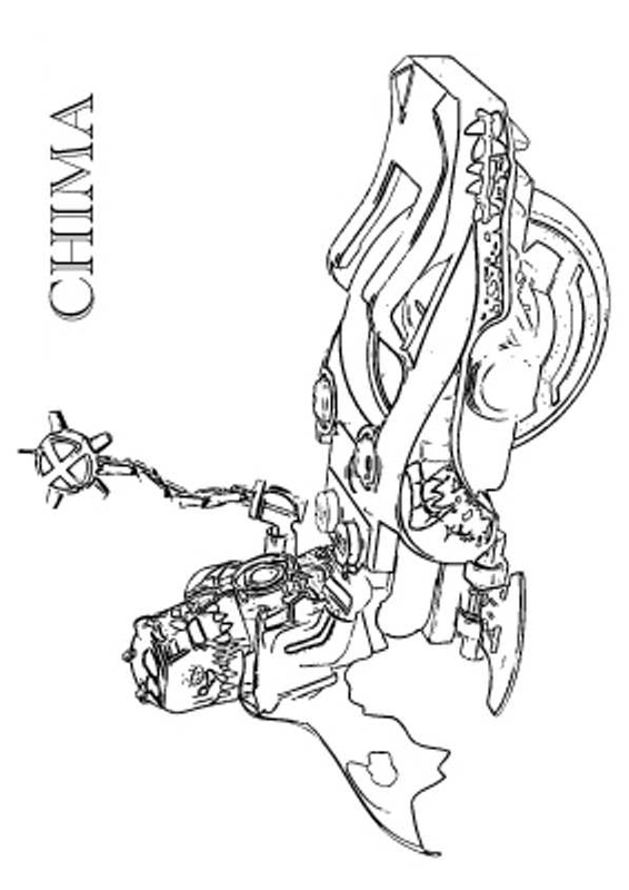 dessin lego chima cragger