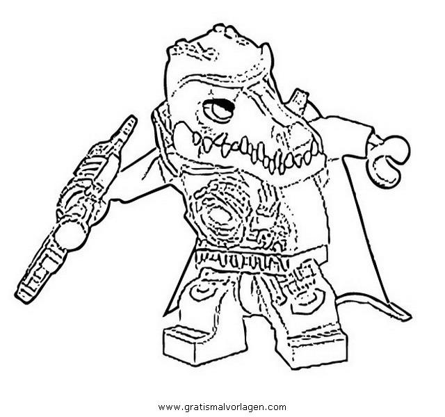 dessin lego chima gorzan