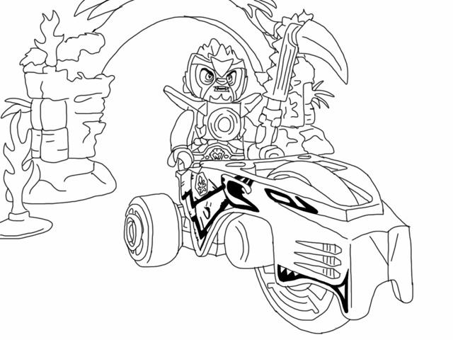dessin dessin lego chima