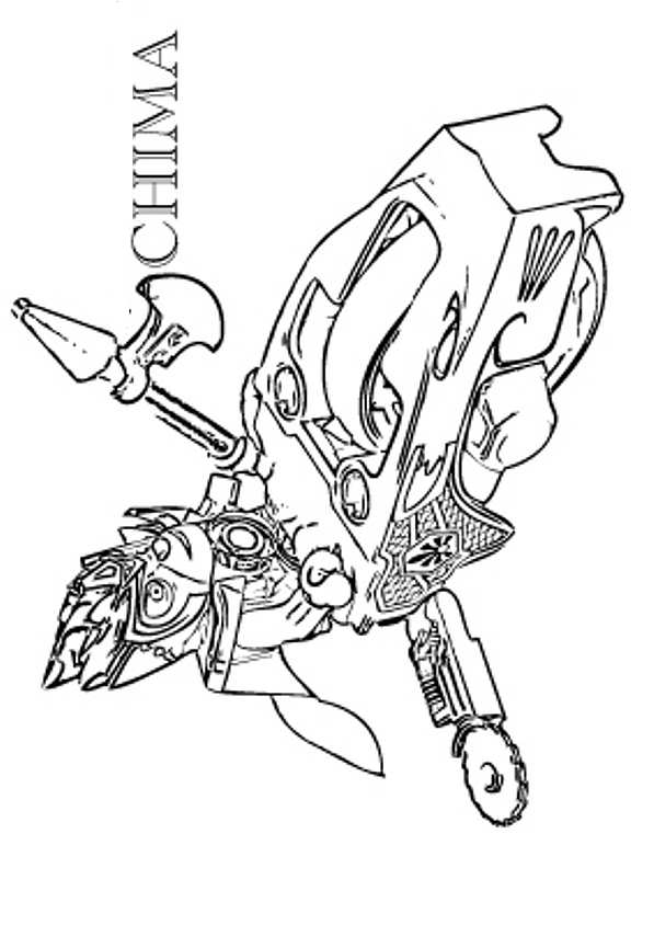 dessin gratuit lego chima