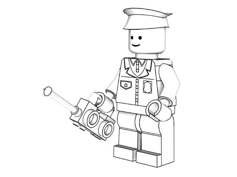 dessin à colorier à imprimer lego chima