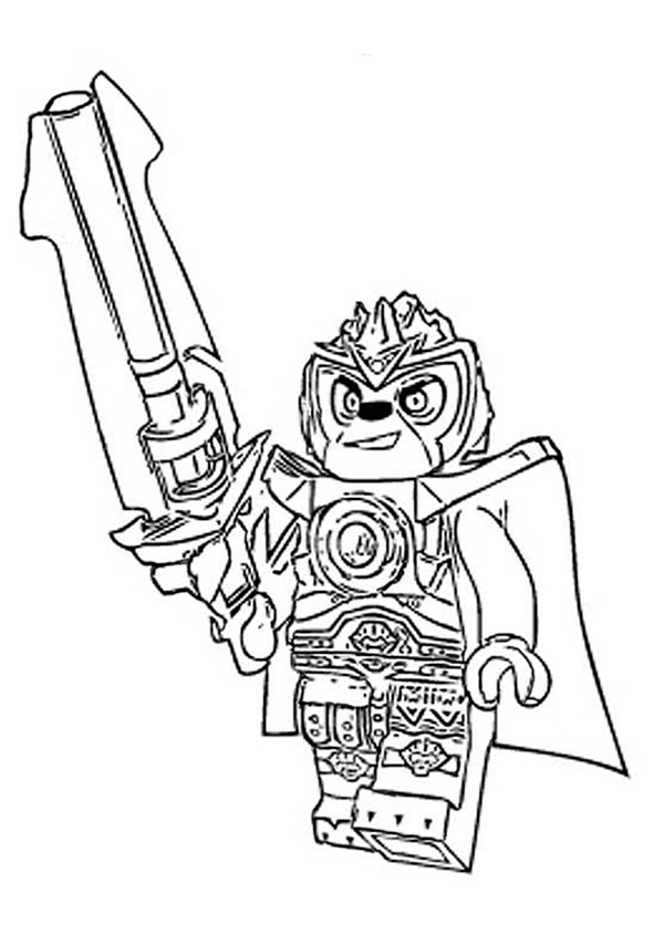 coloriage lego chima scorpion