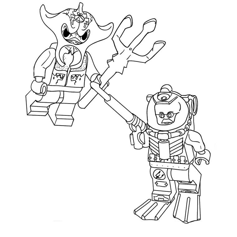 dessin à colorier lego chima imprimer