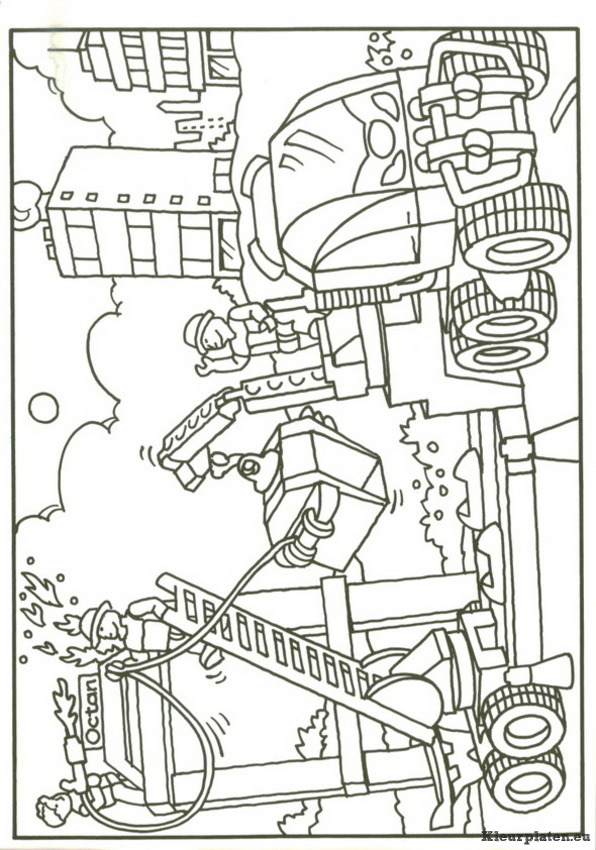 5 dessins de coloriage lego city police imprimer - Dessin de pompiers a imprimer ...