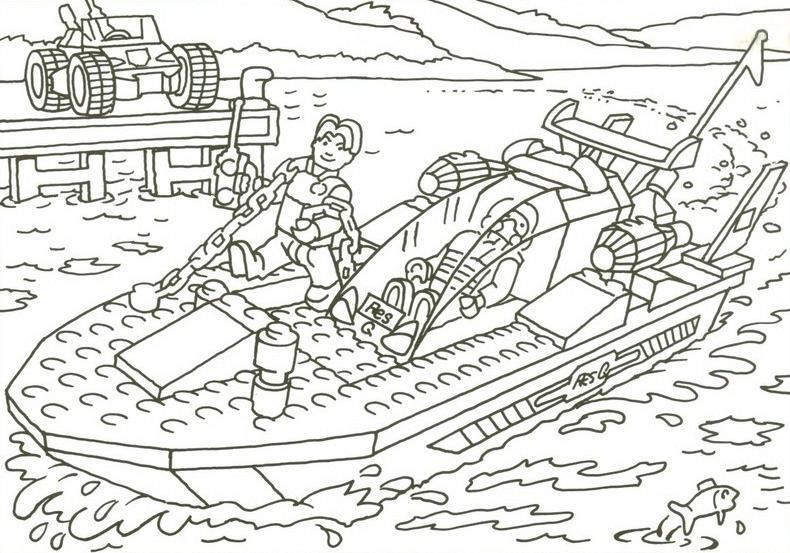 5 dessins de coloriage lego city police imprimer - Dessin de lego city ...