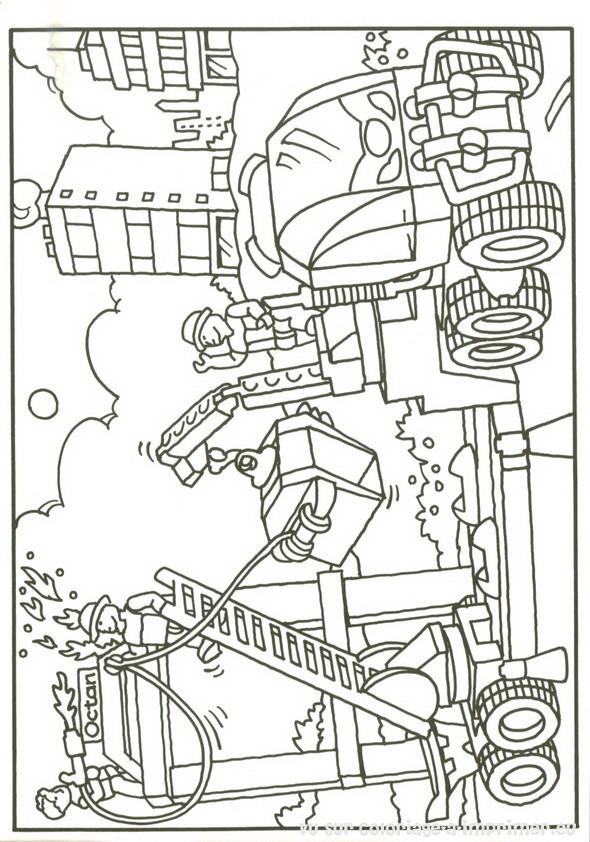 9 dessins de coloriage lego city pompier imprimer - Coloriage hero factory ...