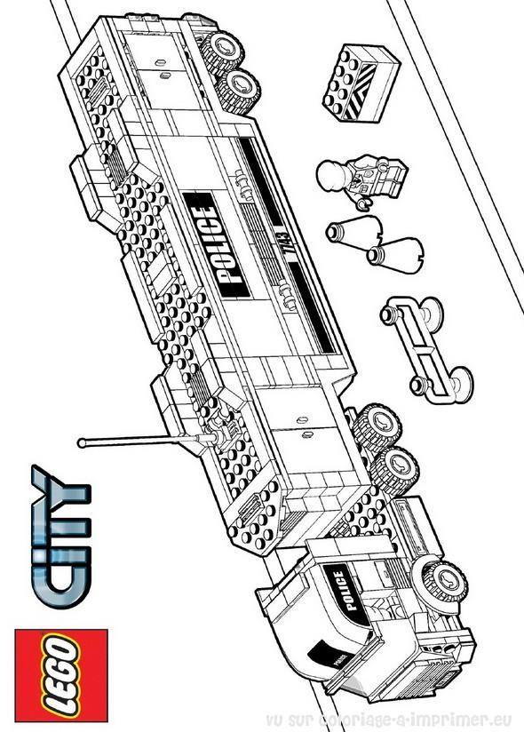 9 dessins de coloriage lego city pompier imprimer - Coloriage de lego city ...