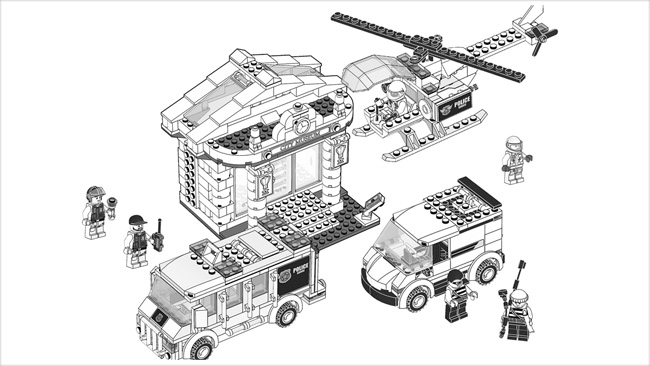 Coloriage Avion Lego City.Coloriage Shrif Et Des Bandits Lego Far West Coloriage Lego