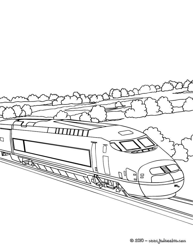 12 dessins de coloriage lego city train imprimer - Locomotive dessin ...
