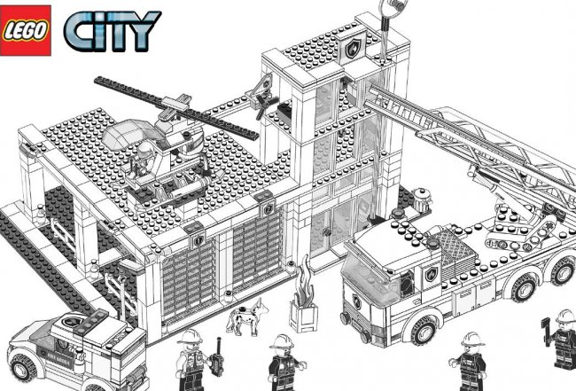 13 dessins de coloriage lego city undercover imprimer - Lego city a imprimer ...