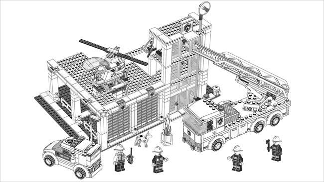 Kleurplaten Lego City Brandweer.Kleurplaten Lego City Trein Kleurplaat Lego Duplo Kleurplatenl Com