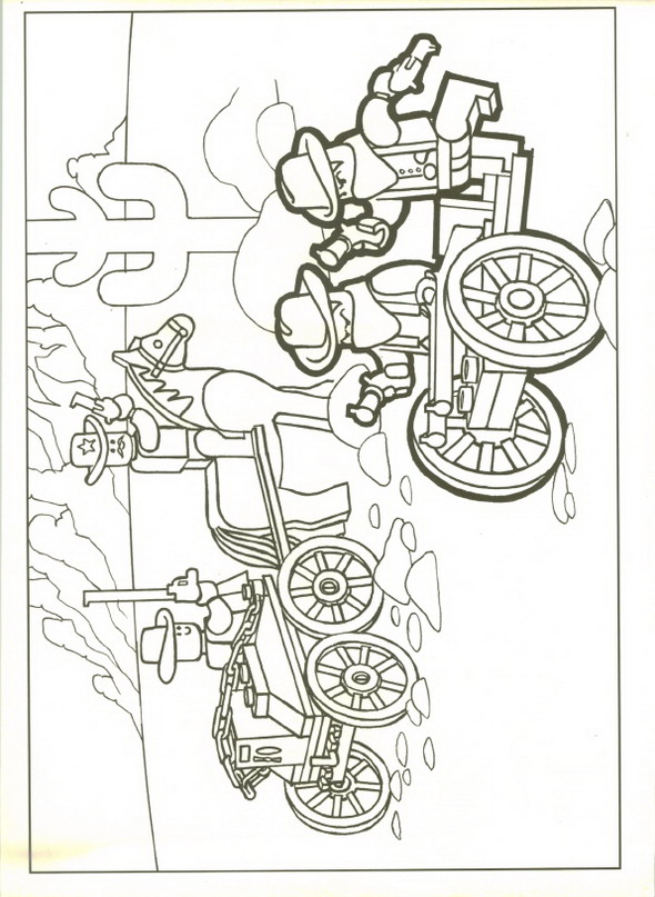 13 dessins de coloriage lego city undercover imprimer - Coloriage de lego city ...