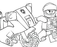 dessin personnage lego city - Lego City Dessin Anim