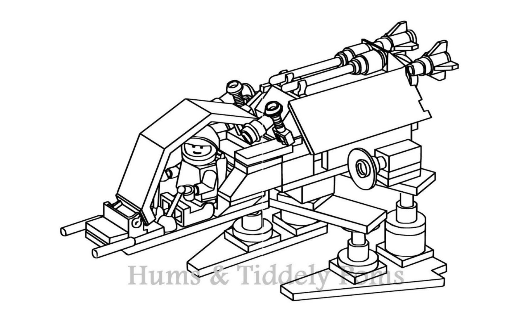 Coloriage dessiner star wars lego 3 - Dessin de lego city ...