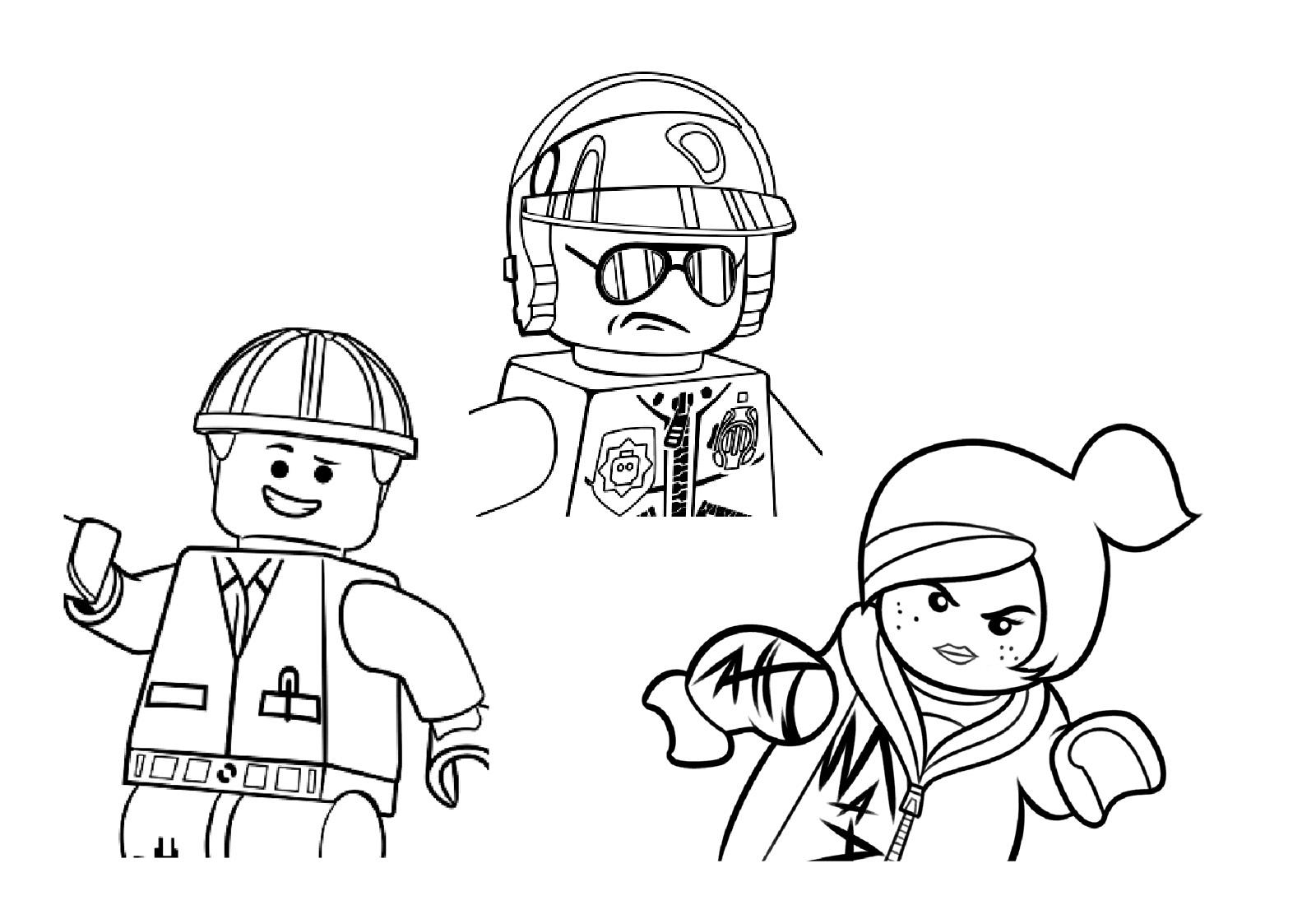 coloriage à dessiner à imprimer lego star wars