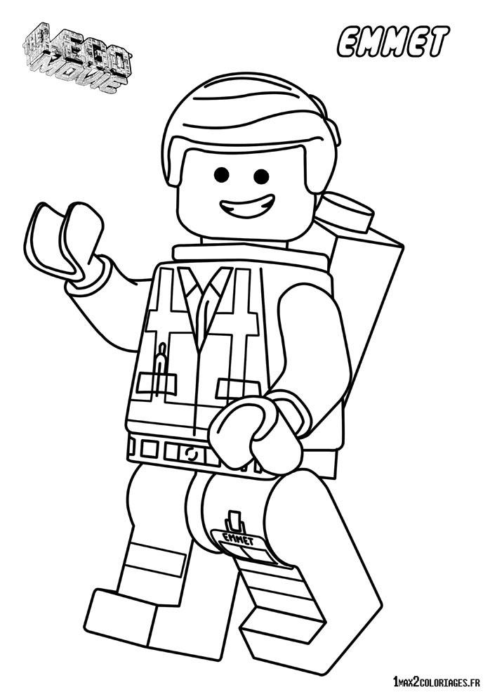 Coloriage lego city police - Lego coloriage ...