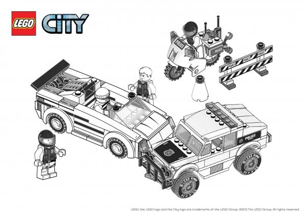 Coloriage Avion Lego City.48 Dessins De Coloriage Lego City A Imprimer