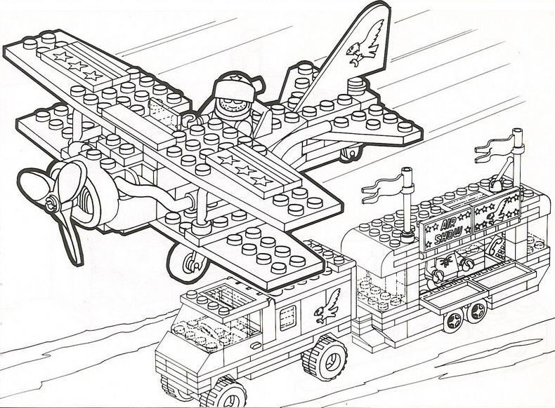 lego city train coloring pages