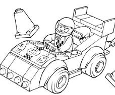 dessin à imprimer lego star wars