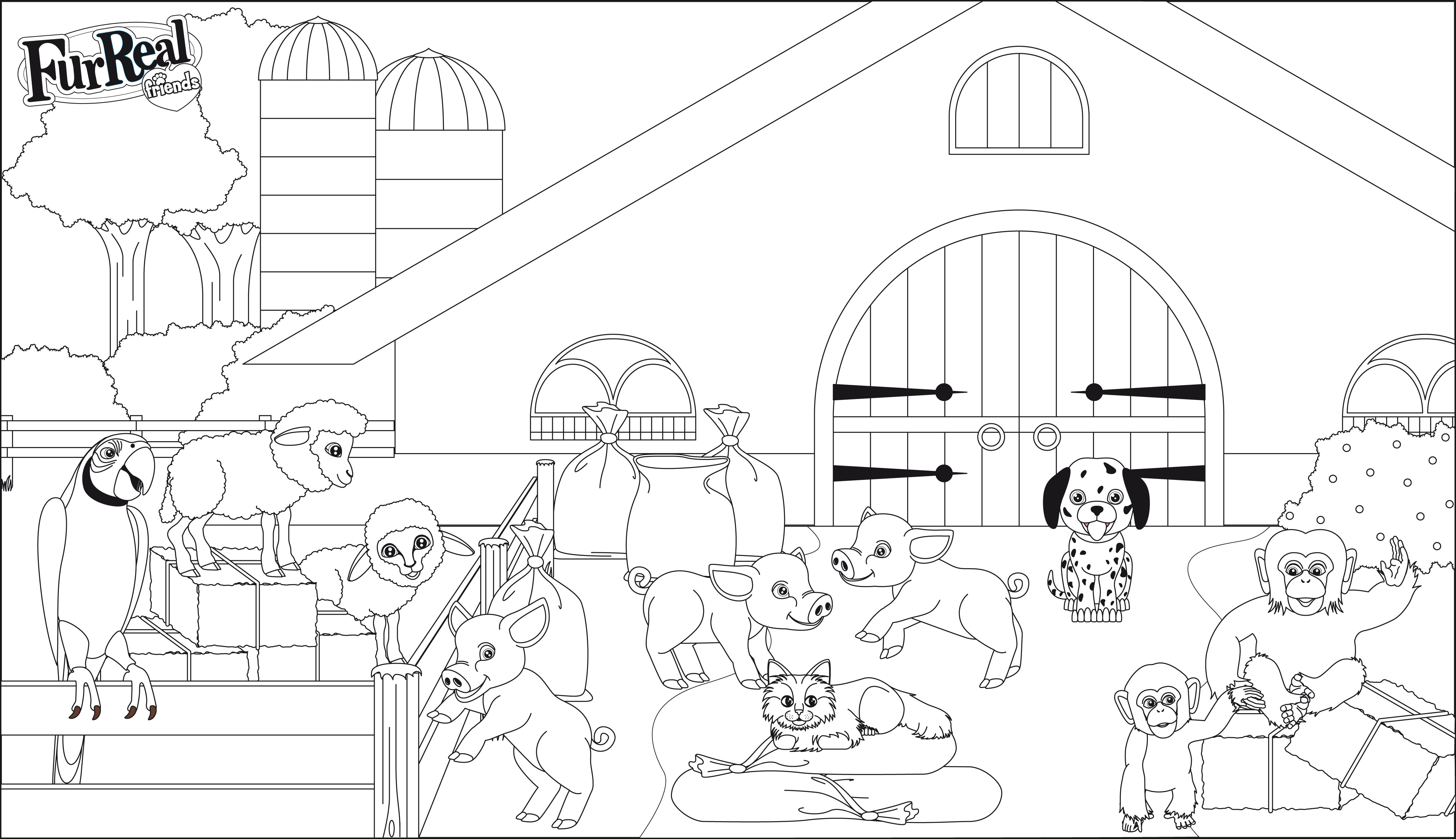 6 dessins de coloriage lego friends animaux imprimer - Dessin de tous les animaux ...