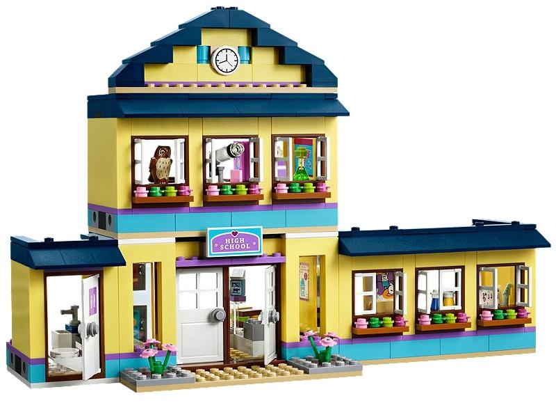 8 dessins de coloriage lego friends cole imprimer - Ecole lego friends ...