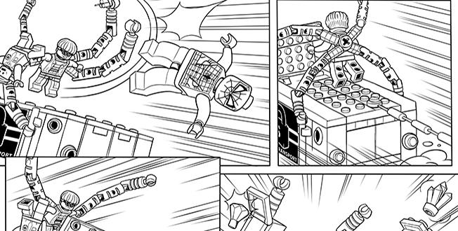 Fresh coloriage lego spiderman frais coloriage lego spiderman dessin coloriage 2019 - Coloriage petit spiderman ...