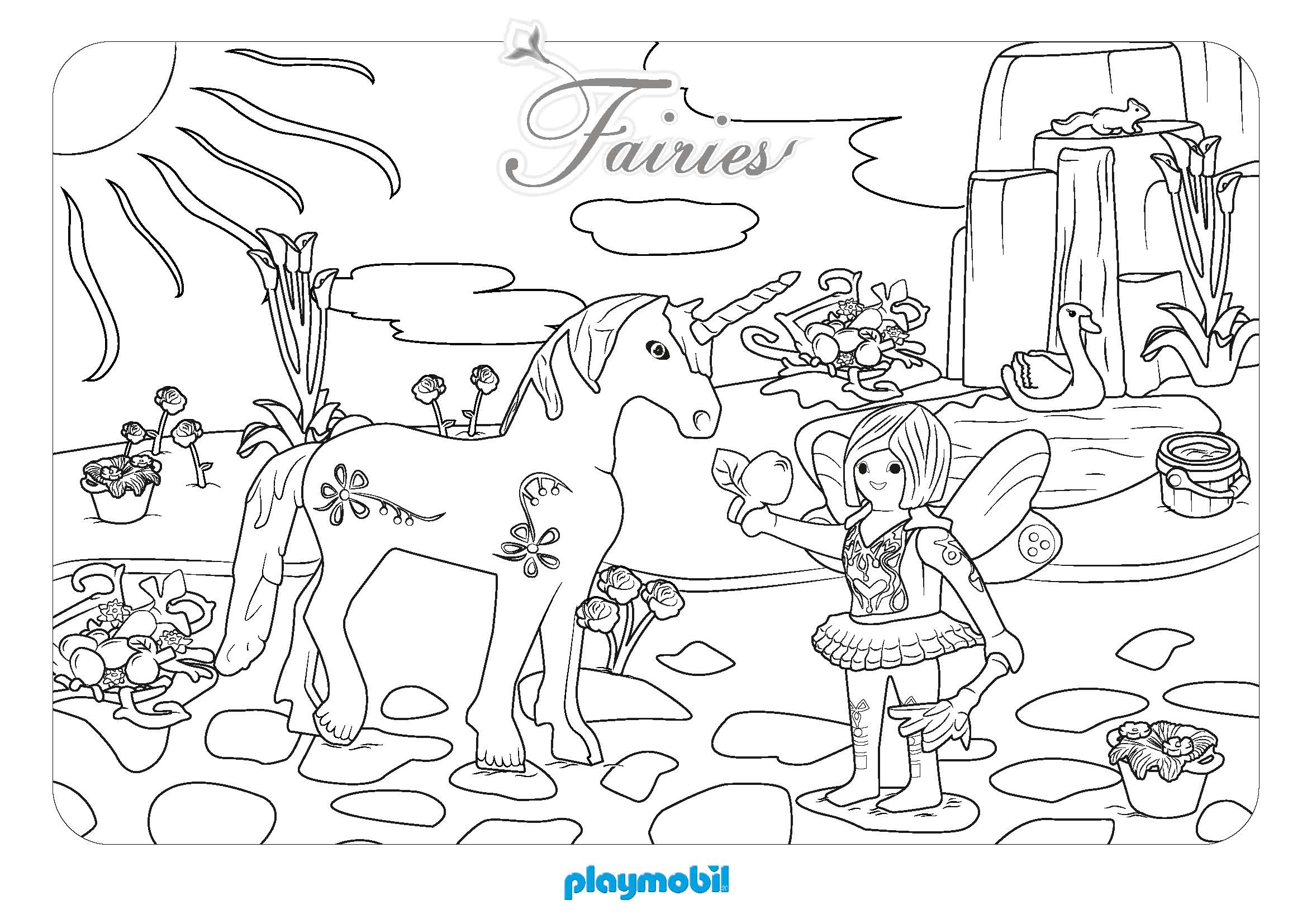 Coloriage Playmobil Foot.48 Dessins De Coloriage Lego Friends A Imprimer