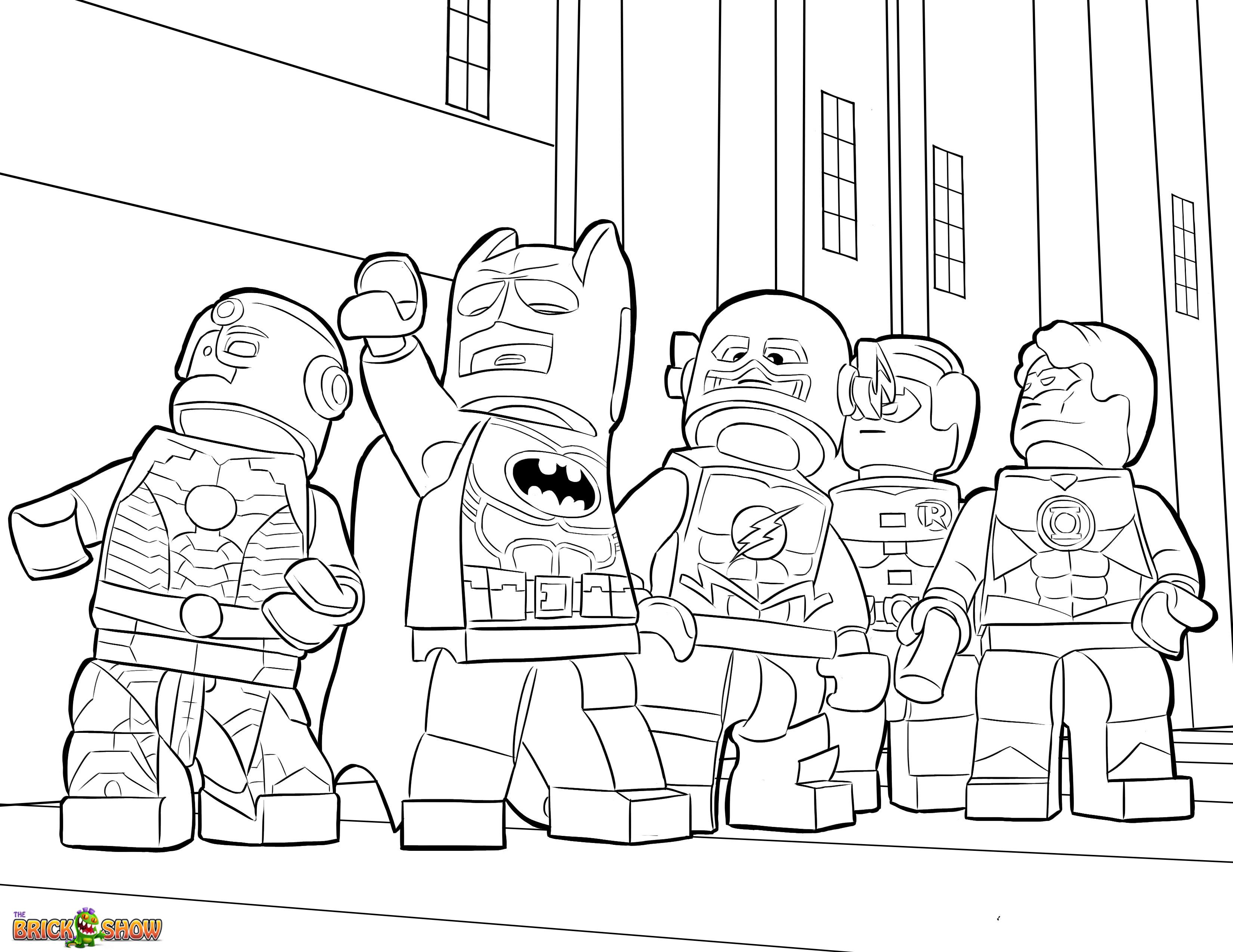 dessin a colorier lego friends