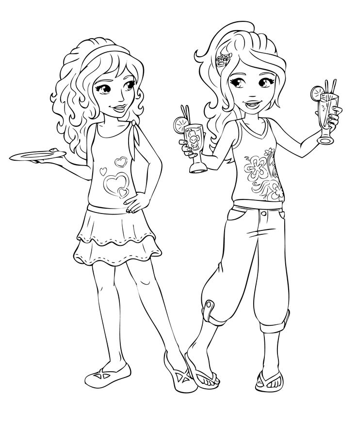 jeux coloriage lego friends