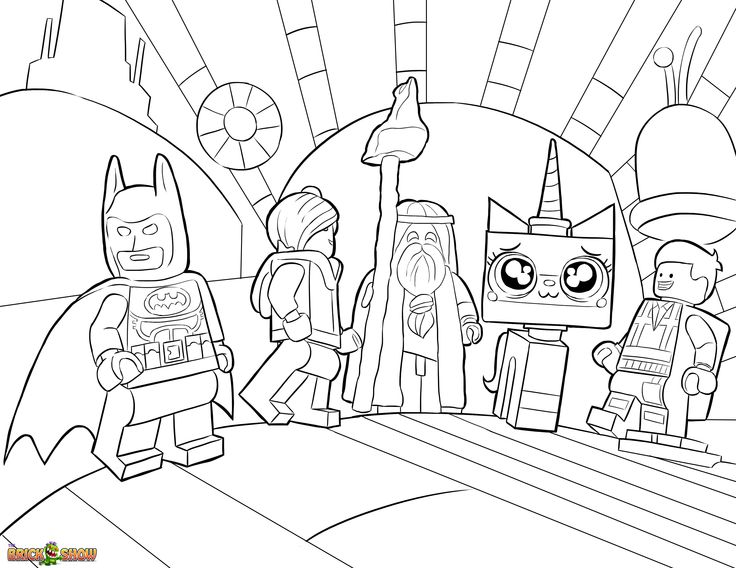 dessin a colorier de lego friends