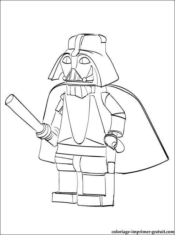 dessin lego star wars à imprimer gratuit