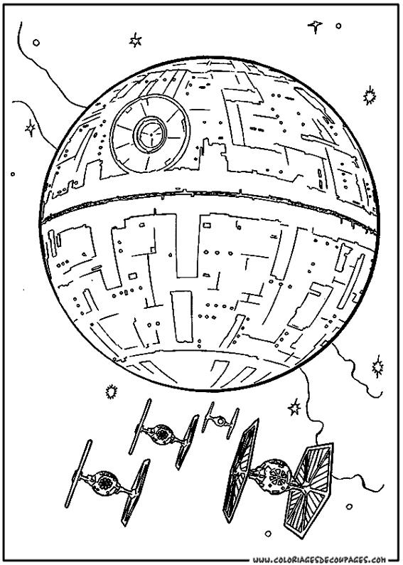 coloriage à dessiner lego star wars yoda