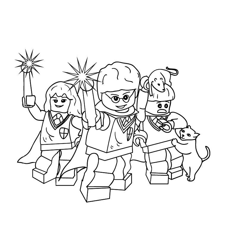 dessin de lego star wars 3