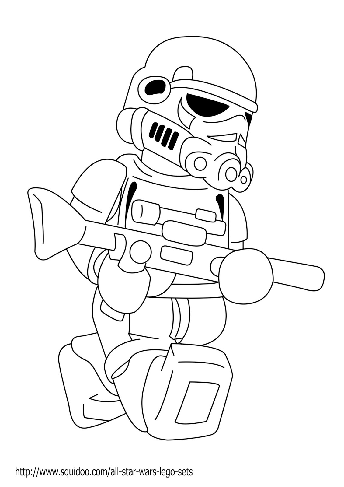 22 Dessins De Coloriage Lego Star Wars A Imprimer