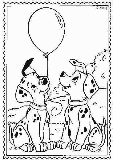 dessin a imprimer les 101 dalmatiens