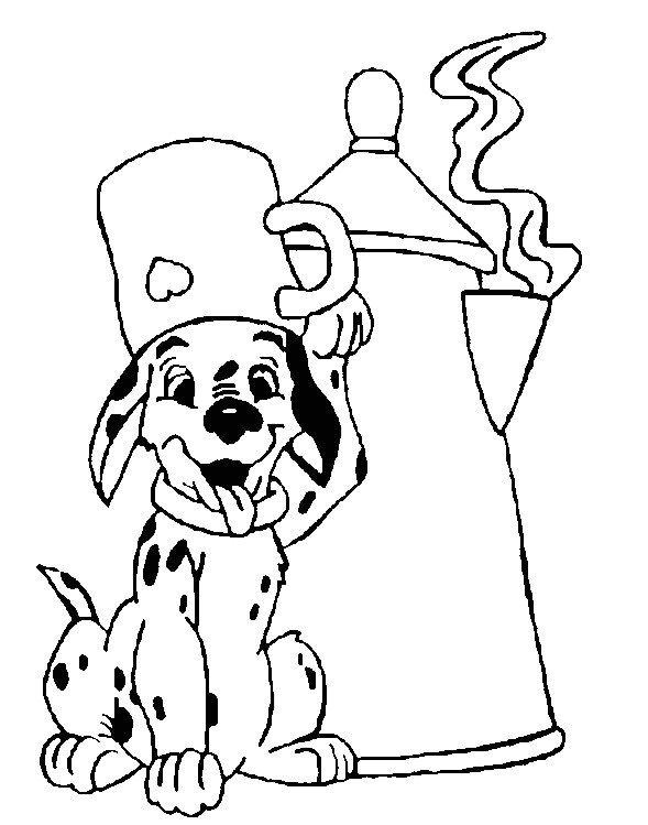 coloriage � dessiner 101 dalmatiens 2