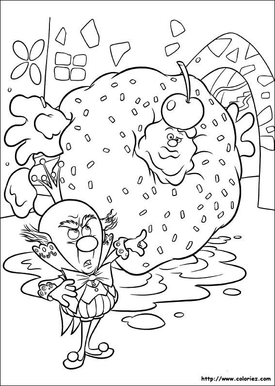dessin de les mondes de ralph