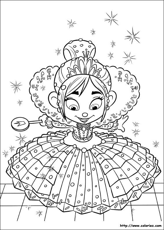 124 dessins de coloriage Les Mondes