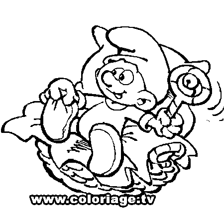 Coloriage dessiner les schtroumpfs 2 - Schtroumpf a dessiner ...