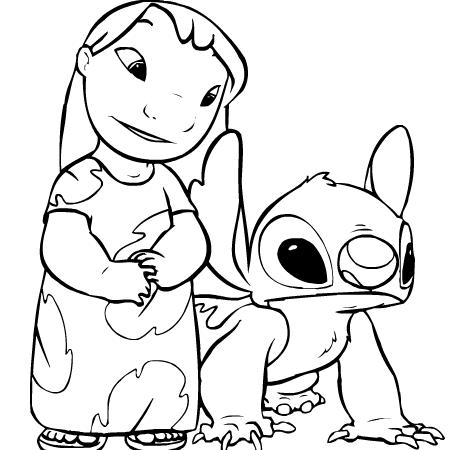 18 dessins de coloriage lilo et stitch en ligne imprimer - Dessin de stitch ...