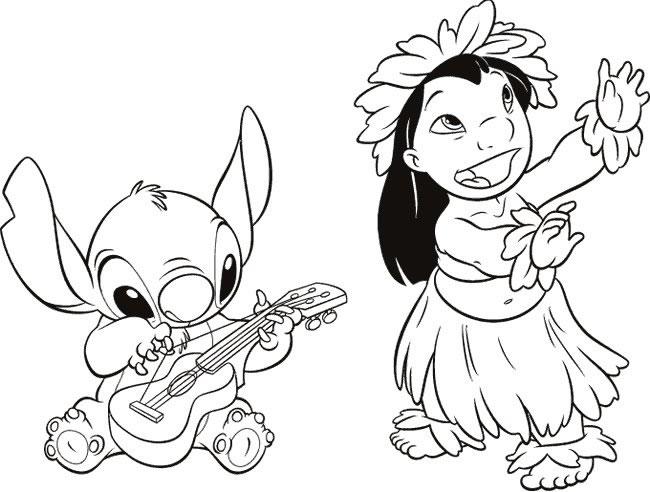 Lilo E Stitch Disegno